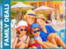 late deal family holidays
